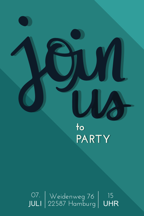 Join us to Party - 30