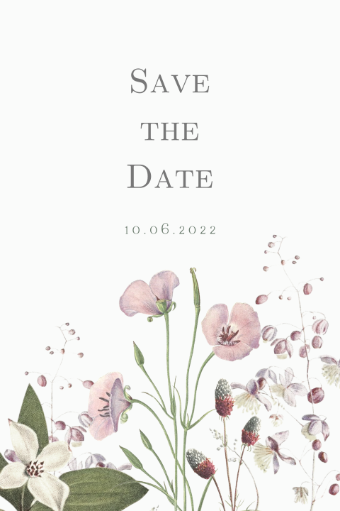 Save the Date - Blumenwiese